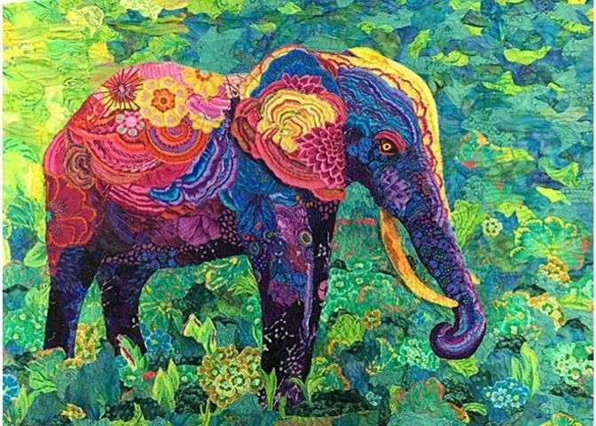 Elaphant patchwork