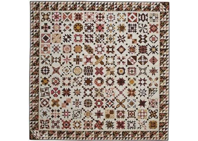 The loyal union sampler quilt