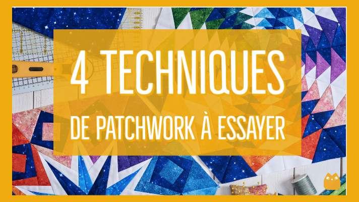 techniques de patchwork