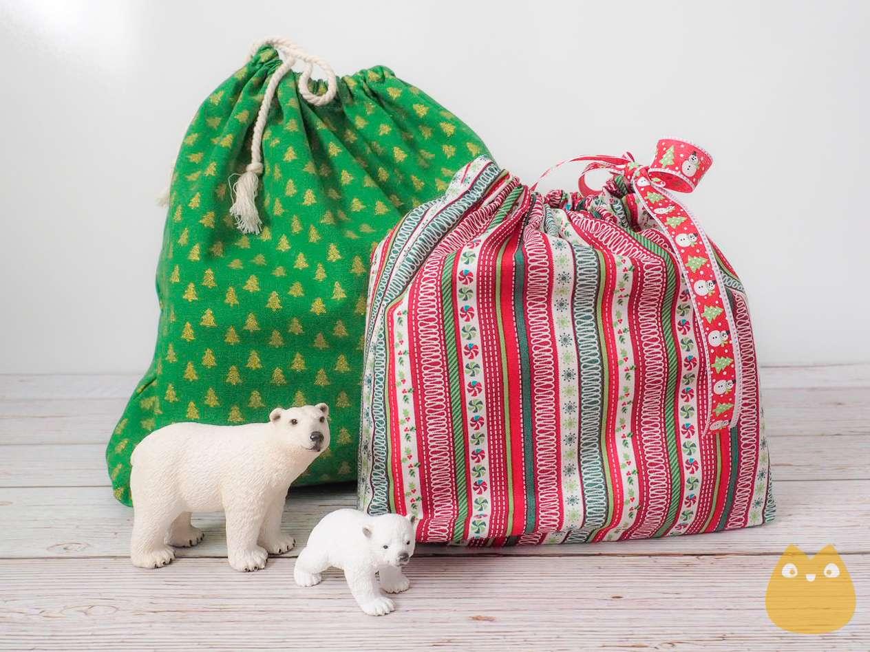 sac à cadeau réutilisable