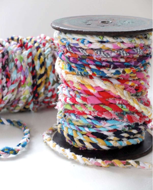 fabric yarn, corde en tissus
